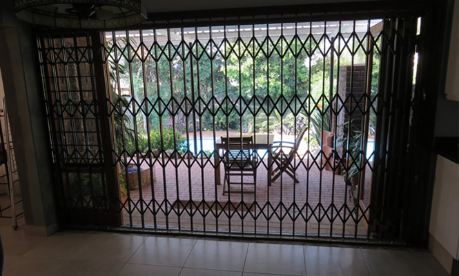 Security Gate Sliding Door